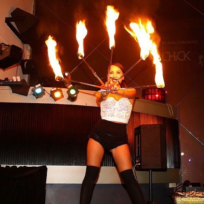 Fire Showgirl