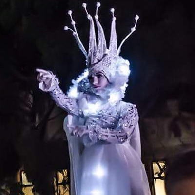 Illuminated Snow Queen