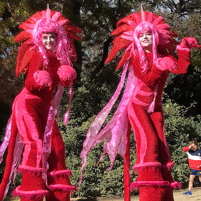 Melbourne Stilt Walkers
